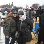 A firsthand look at the presidential inauguration