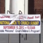 National Back to Church Day 2013