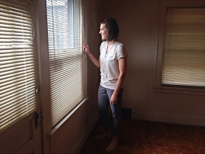 Cassie smiling looking out window(1)