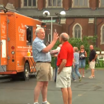 Downtown church hosts food truck roundup (Video)