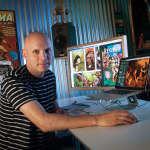 Akron-based filmmaker draws success with superhero comic (Article and Video)
