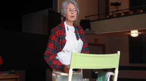 """Emma """"Grandma"""" Gatewood, played by Priscilla Kaczuk, was a  mother of 11 and grandmother of 24 and was a farmer's wife who lived in an abusive marriage, so she started walking """"on a lark."""" (Photo: Chris Miller)"""