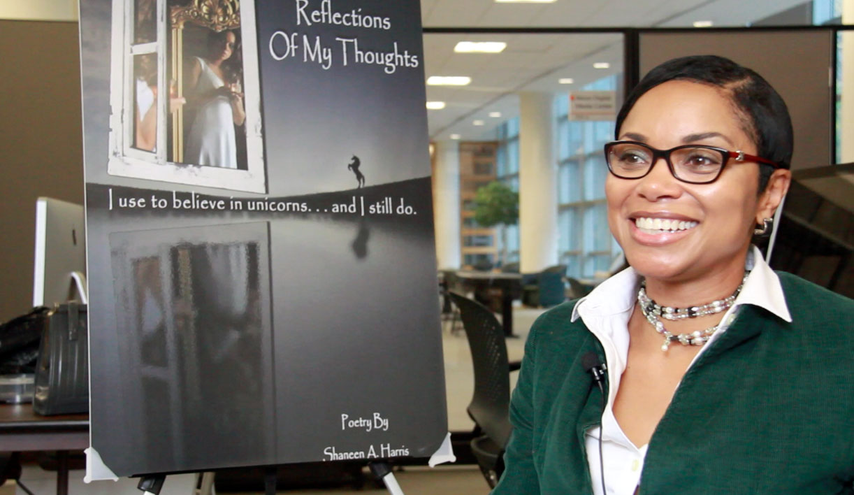 Writer Shaneen Harris says that mental illness is traditionally not discussed and addressed among African-American communities. (Photo: Chris Miller)