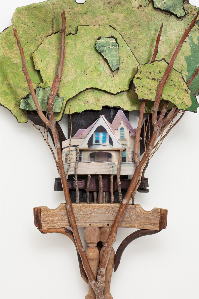 The work of Artist Bret Hines is part of TIME CAPSULES, which opens Jan. 30 at Summit Artspace Gallery.