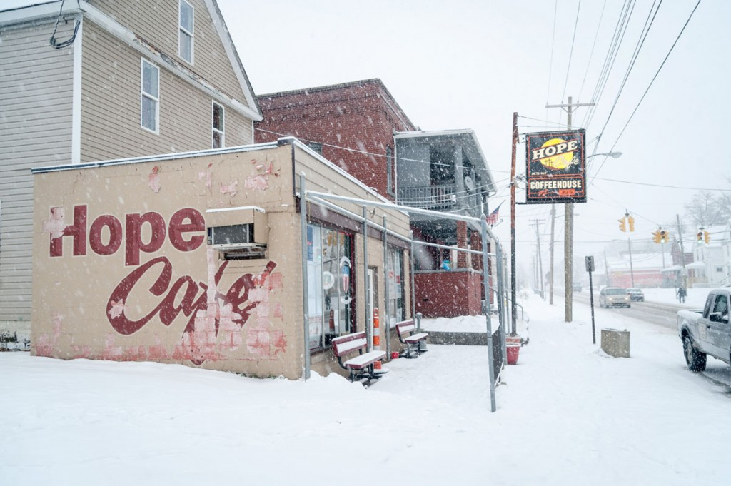 The Hope Cafe, which operates on the front lines of this rough neighborhood, reaches out to many who have nowhere else to turn.