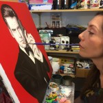 Artist fulfills creative vision despite disability (Article and Video)