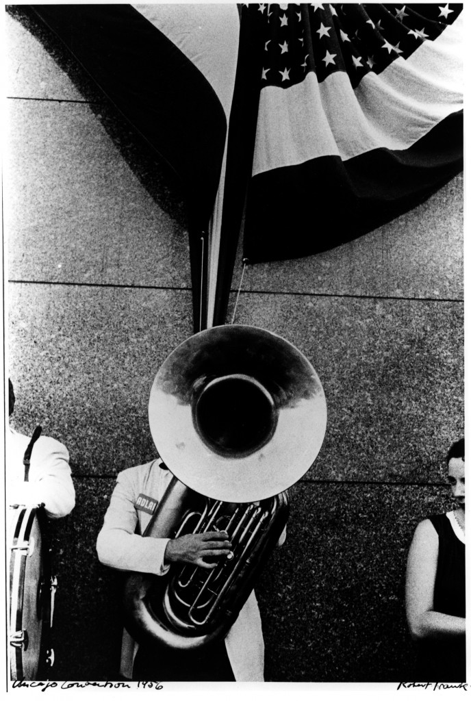 """""""Chicago Convention,"""" by Robert Frank (1956). (Collection of the Akron Art Museum, Museum Acquisition Fund.)"""