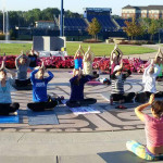 Akron Yoga Summit tops off National Yoga Month