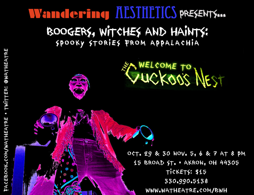 Boogers, Witches and Haints Flyer - October 2015
