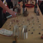Holiday-themed local libation recipes taught in Craft Cocktails class (Video)