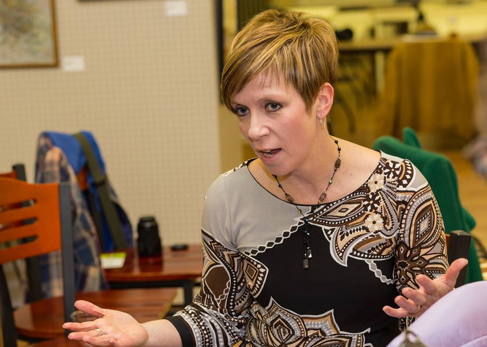 Sharing thoughts on the arts and culture scene in Cuyahoga Falls (Photo: Fitzwater Photography)