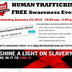 Collaborative against human trafficking hosts awareness events this weekend in ..