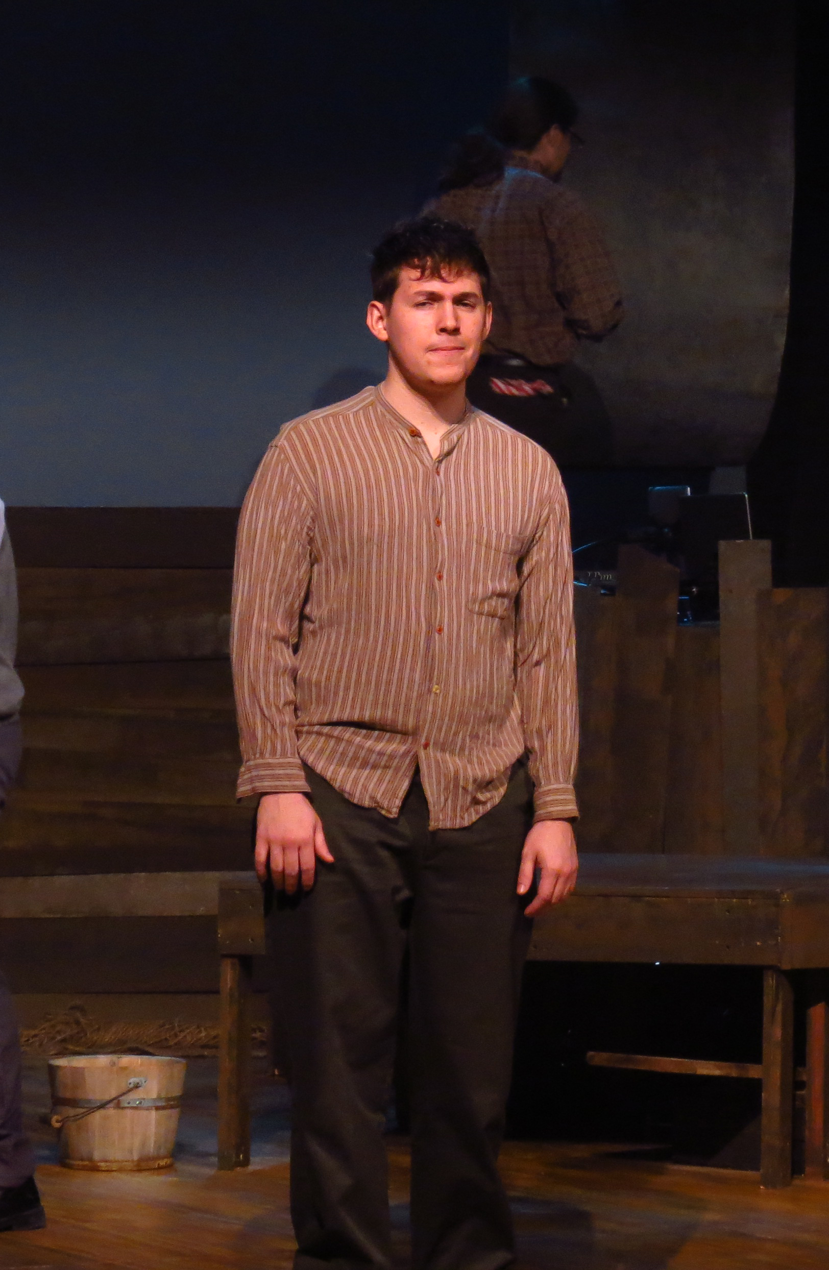 Michael Knobloch as Boy/Peter (Photo courtesy of Weathervane Playhouse)