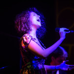 French jazz singer lights up stage at Blu
