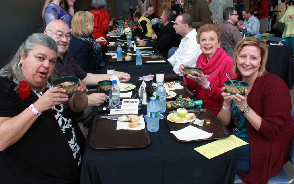 Zeber-Martell's Empty Bowl Project, which sells out each year, brings people to the Akron Art Museum to enjoy music and food, with proceeds benefiting the Good Samaritan Hunger Center. (Photo: Chris Miller)