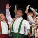 Weathervane Playhouse staging the hilarious 'Monty Python's Spamalot'