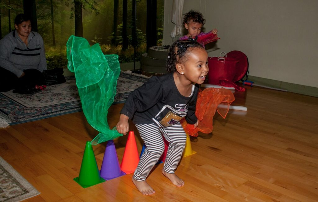 Let's Play! at Pure Intentions Wheatgrass & School of Energy (Photo: Svetla Morrison)
