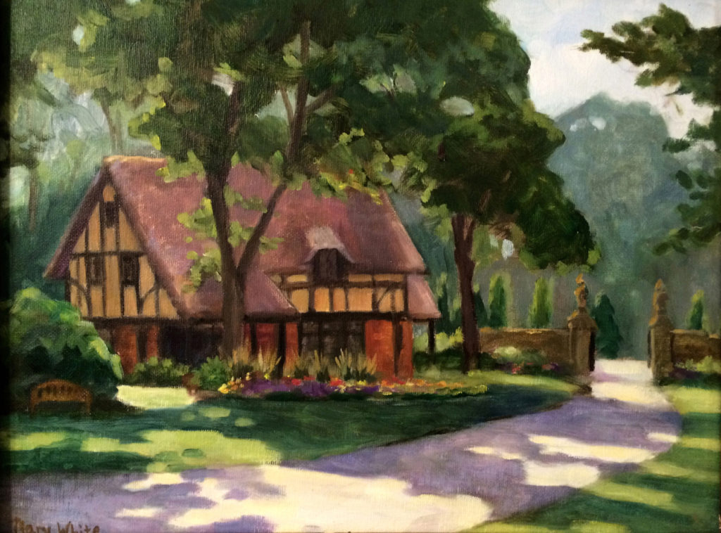 Stan Hywet Gate Lodge_watercolor-Mary White