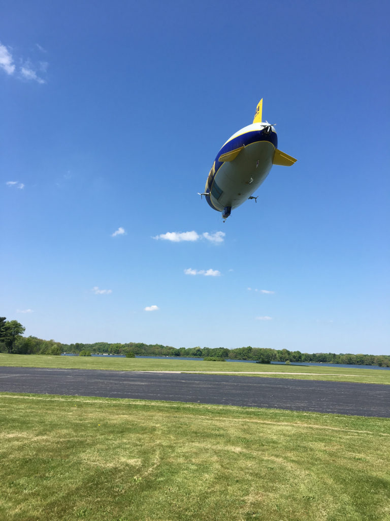 Wingfoot 2 is Goodyear's newest airship, and features old and new technology.