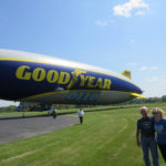 'I rode the blimp. Well, actually… it's a dirigible'