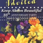 Keep Akron Beautiful Celebrates 35th anniversary at new Bud and Susie Rogers Garden