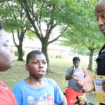 Akron Police cools off residents with free ice cream, community outreach