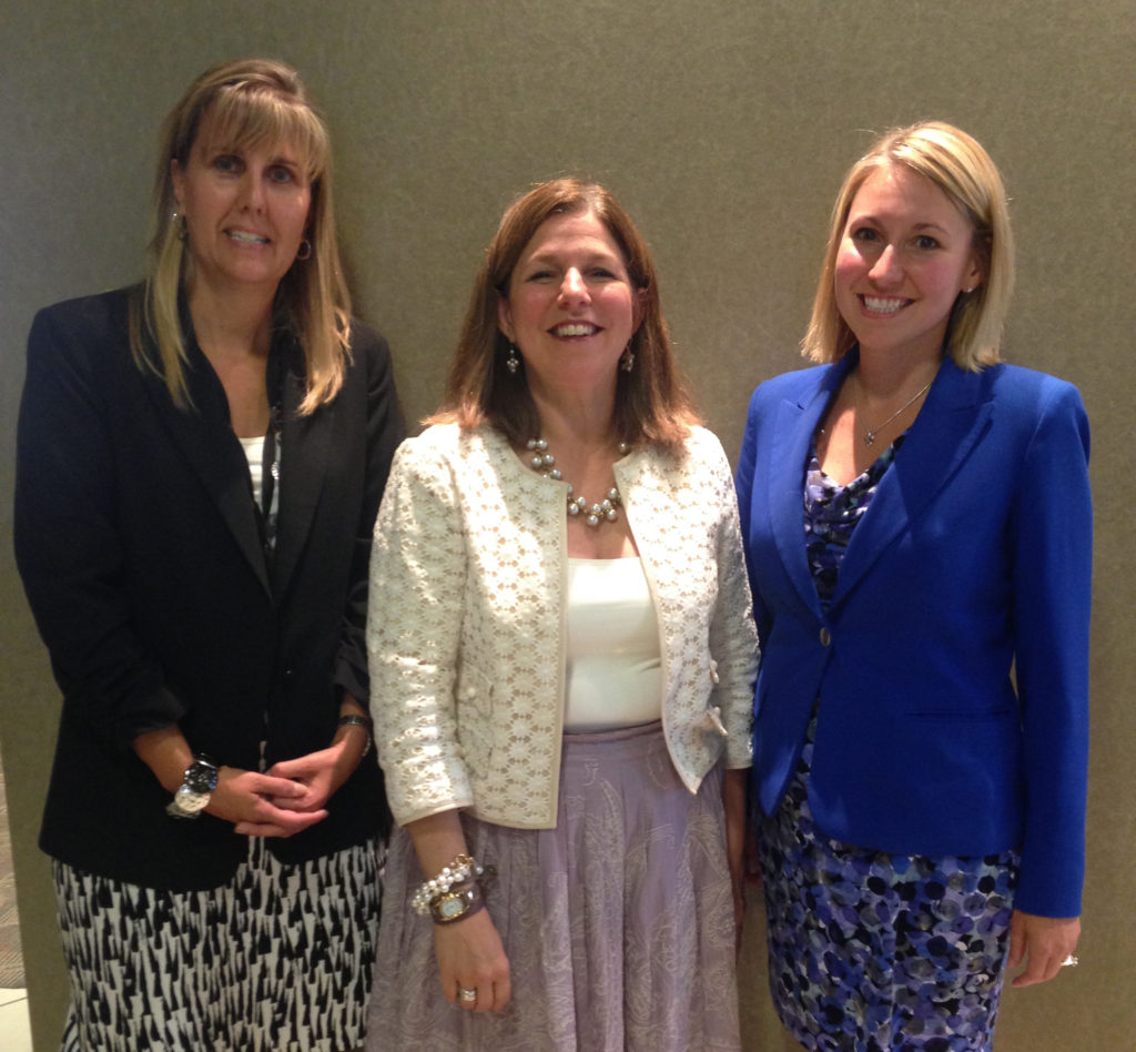 (From left) Judge Lisa Coates, Judge Katarina Cook and Judge Jill Flagg-Lanzingerer have partnered with PAWSibilities, Humane Society of Greater Akron, to offer an animal cruelty prevention class as a sentencing option for defendants convicted of crimes involving animals under state and local laws.