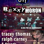 Tracey Thomas takes Jilly's stage with Ralph Carney, Terry Hynde