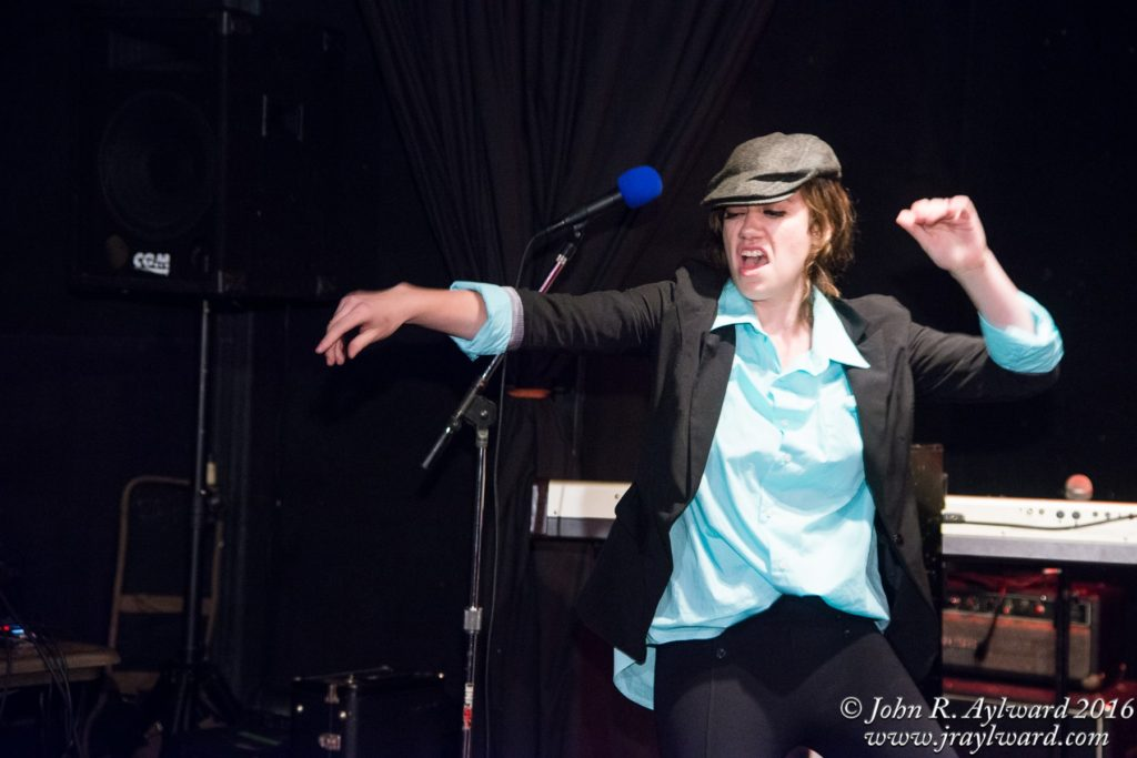 'Ghosts of the Past' emcee Katie Beck. (Photo: John Aylward Photography)