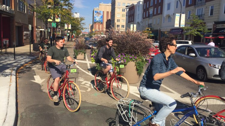 'Unclass' takes students on bicycle tour, opens ideas to repurpose Quaker complex