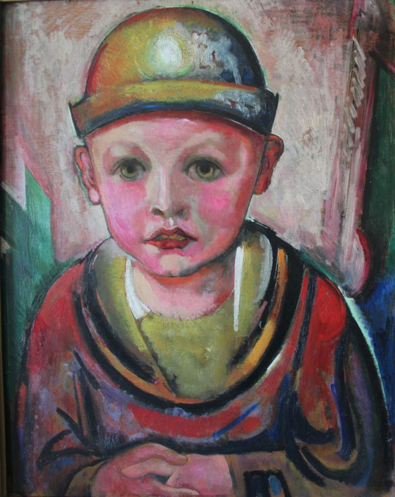 Boy's Portrait by William Summer (Photo courtesy: Akron Society of Artists)