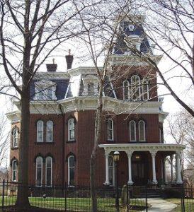 Hower House Museum (owned and operated by The University of Akron), Akron, Ohio.