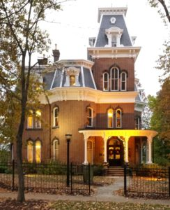 Hower House Museum, The University of Akron.