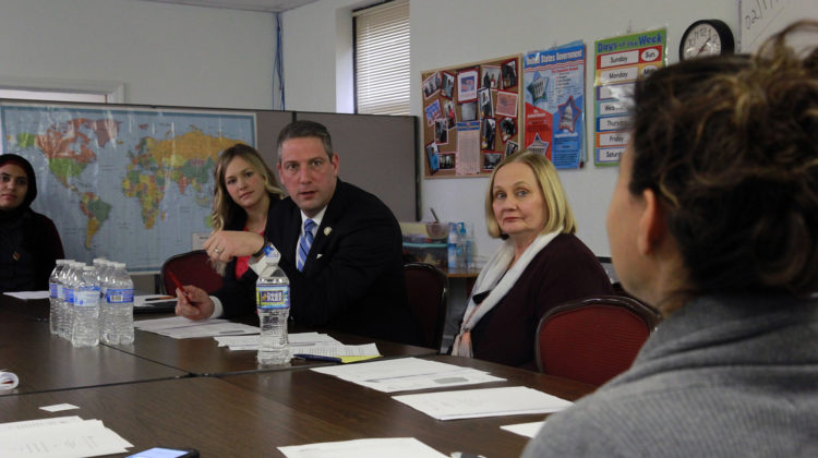 International Institute hosts Rep. Tim Ryan, publishes report on spending power, impact of refugees, immigrants