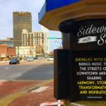 New outdoor audio system serenades downtown Akron visitors