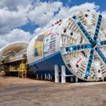 City hosts send-off event for giant tunneler 'Rosie' Aug. 19