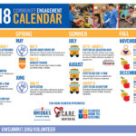 United Way releases 2018 volunteer engagement calendar