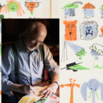 Interactive Art Museum exhibit features children's book illustrator Ed Emberley