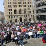 Hundreds gather for Akron March for our Lives event