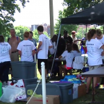 Akron Snow Angels hosts 'Christmas in July' for area homeless ..