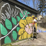 UA Art Bomb Brigade wraps up new mural at Grand ..