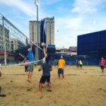 Downtown volleyball league moves to new 'Canal Courts' location