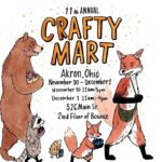 Buy local at Crafty Mart's Holiday Market Nov. 30-Dec. 1